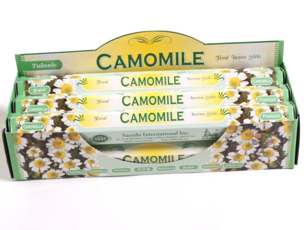 Vonné tyčinky Camomile - vůně Heřmánek - 20 ks - #08