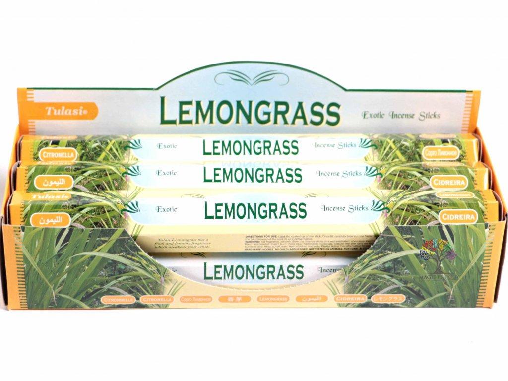 Vonné tyčinky Lemongrass - vůně Citrónová tráva - 20 ks - #23