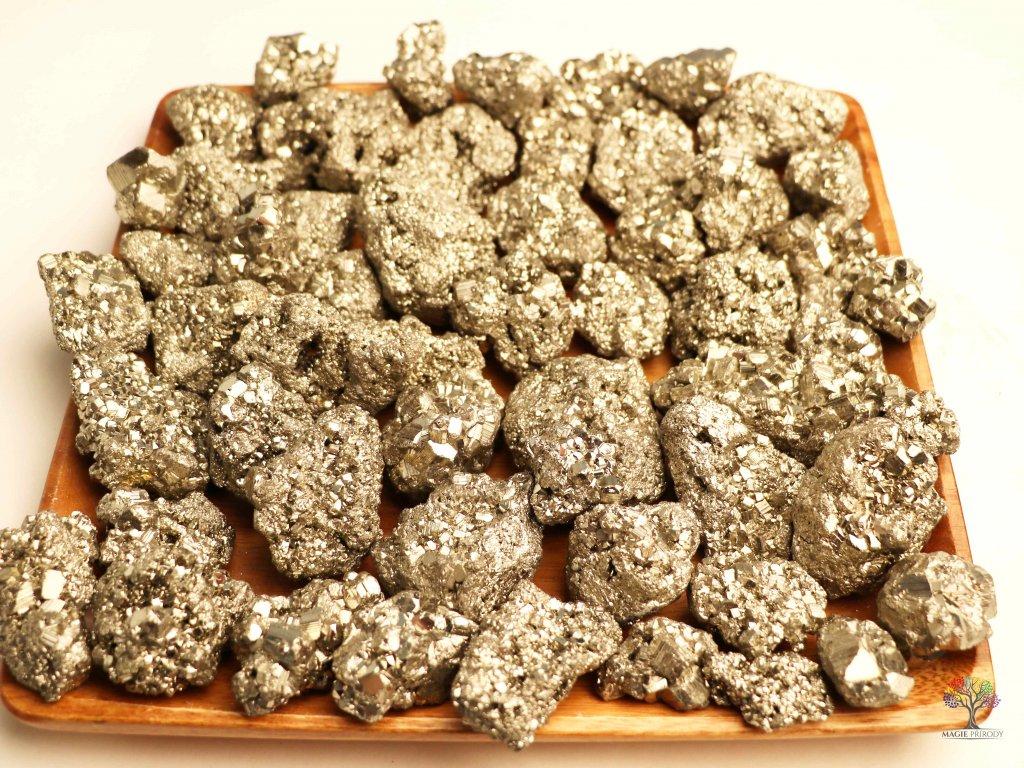 Pyrit přírodní na váhu - 100 g  + až 10% sleva po registraci