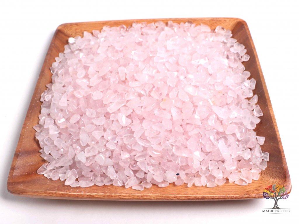 Tromlované kamínky Růženín S - kameny o velikosti 15 - 25 mm - 100 g - Madagaskar  + až 10% sleva po registraci