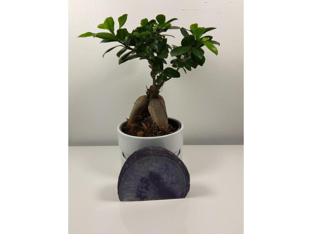 Achát fialový 8 - 0,7 kg