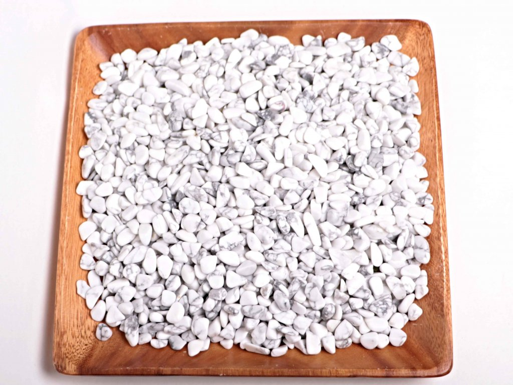 Tromlované kamínky Magnezit S - kameny o velikosti 15 - 25 mm - 100 g - Brazílie