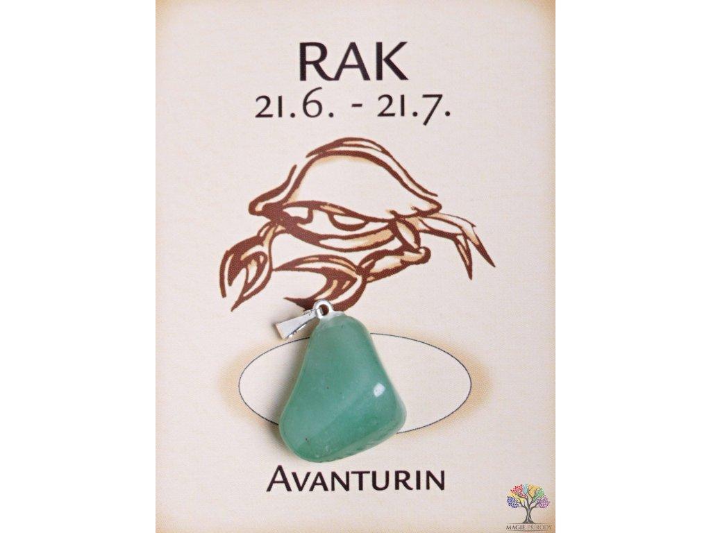Kámen podle znamení - RAK  + sleva 5% po registraci na většinu zboží + dárek k objednávce