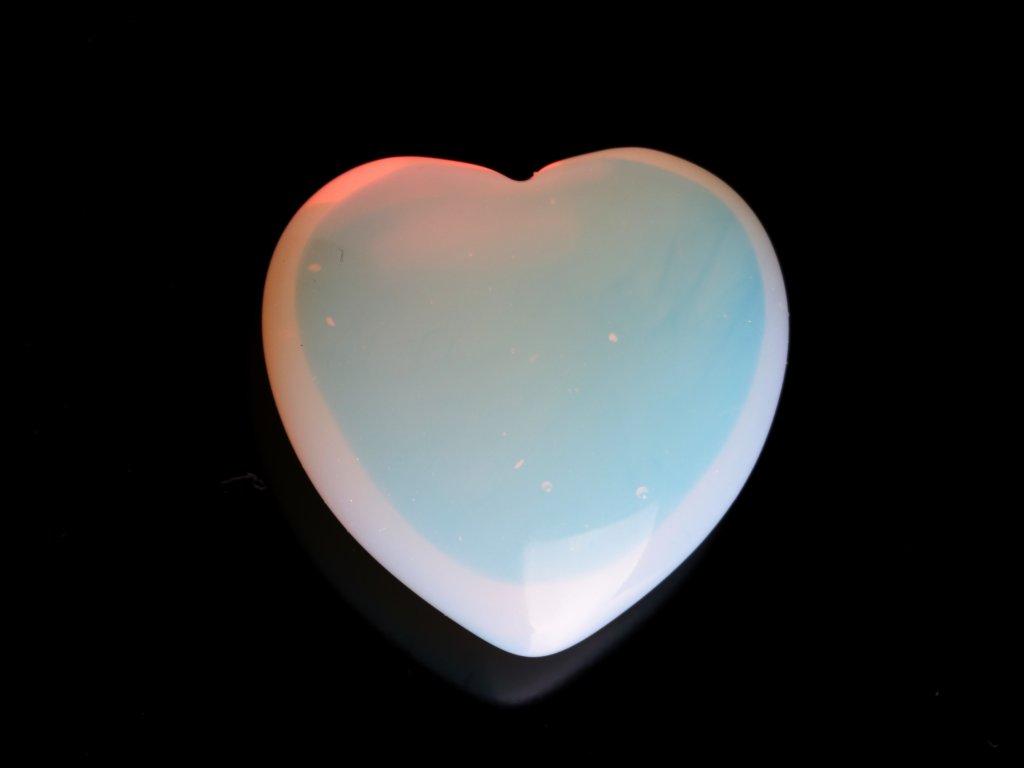 Srdce Opalit 40x40 mm - Opalitové srdce #11  + sleva 5% po registraci na většinu zboží + dárek k objednávce