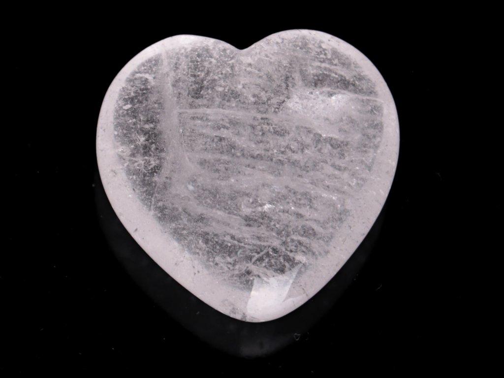 Srdce Křišťál 45x45 mm - Křišťálové srdce #256