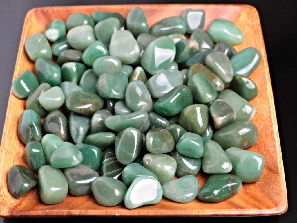 Tromlované kamínky Avanturin XL - kameny o velikosti 30 - 50 mm - 500 g - Brazílie  + až 10% sleva po registraci