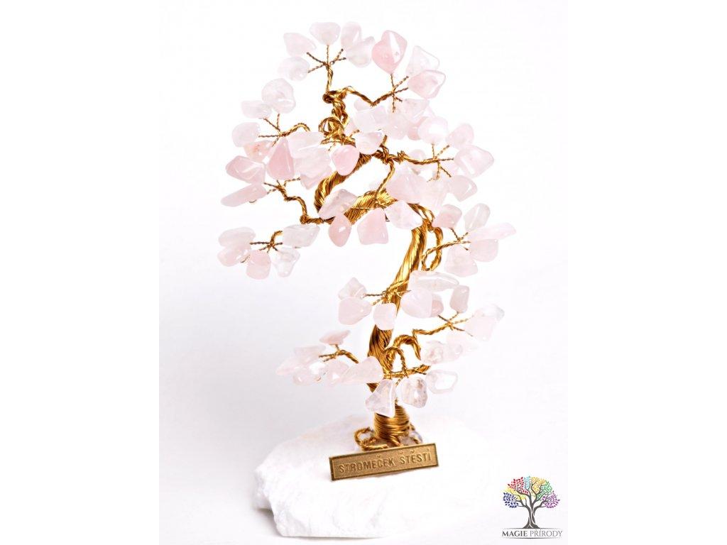 Růženínový stromeček štěstí 16 cm - B1 - #69  + až 10% sleva po registraci