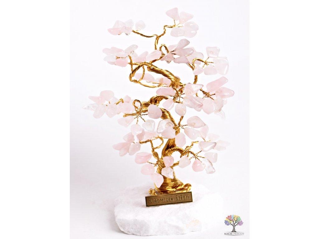 Růženínový stromeček štěstí 18 cm - B2 - #75