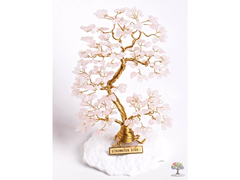 Růženínový stromeček štěstí 17 cm - A2 - #80  + sleva 5% po registraci na většinu zboží + dárek k objednávce