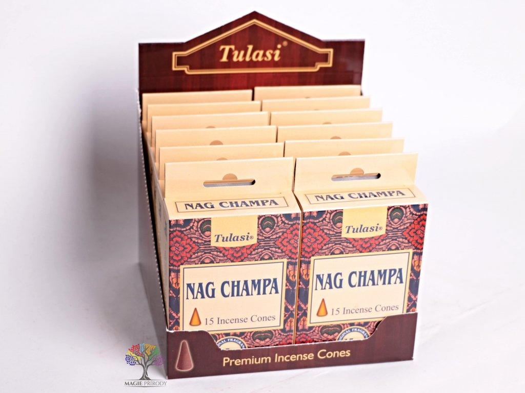 Vonné františky Tulasi Nag Champa 15 ks - #07  + sleva 5% po registraci na většinu zboží + dárek k objednávce