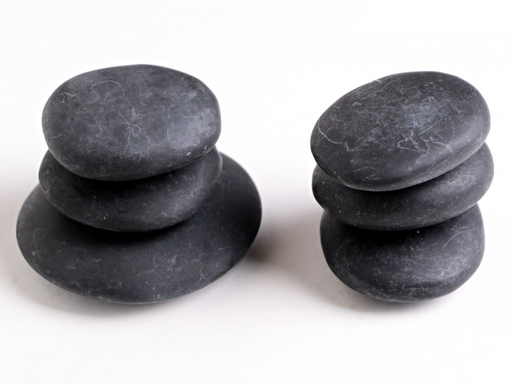 Lávové masážní hmatky 6 ks - 640 g #07