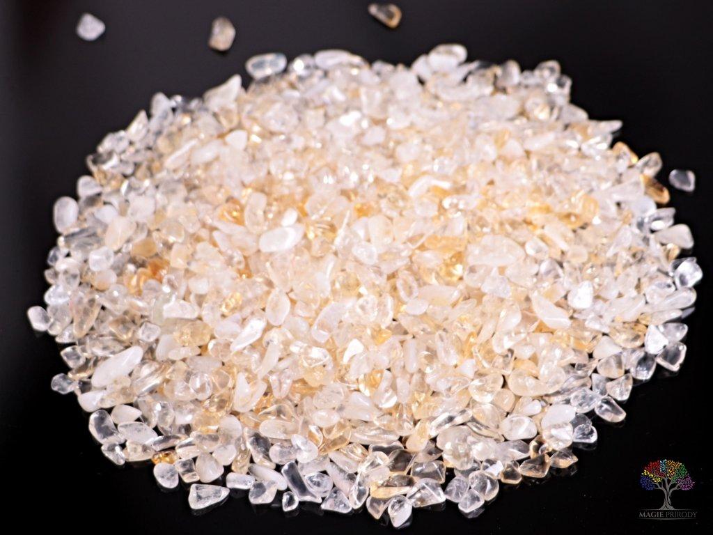 Tromlované kamínky Citrín XS - kameny o velikosti 6 - 10 mm - 100g - Brazílie  + sleva 5% po registraci na většinu zboží + dárek k objednávce