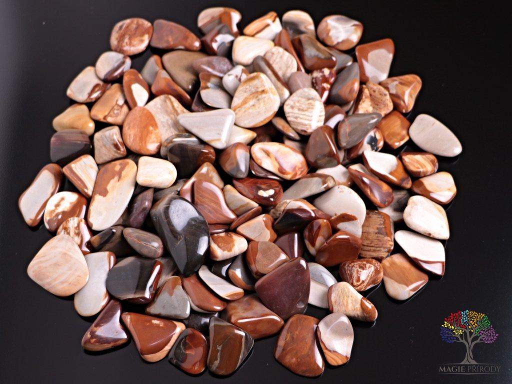 Tromlované kamínky Limnokvarcit L - kameny o velikosti 30 - 45 mm - 500 g - Slovensko