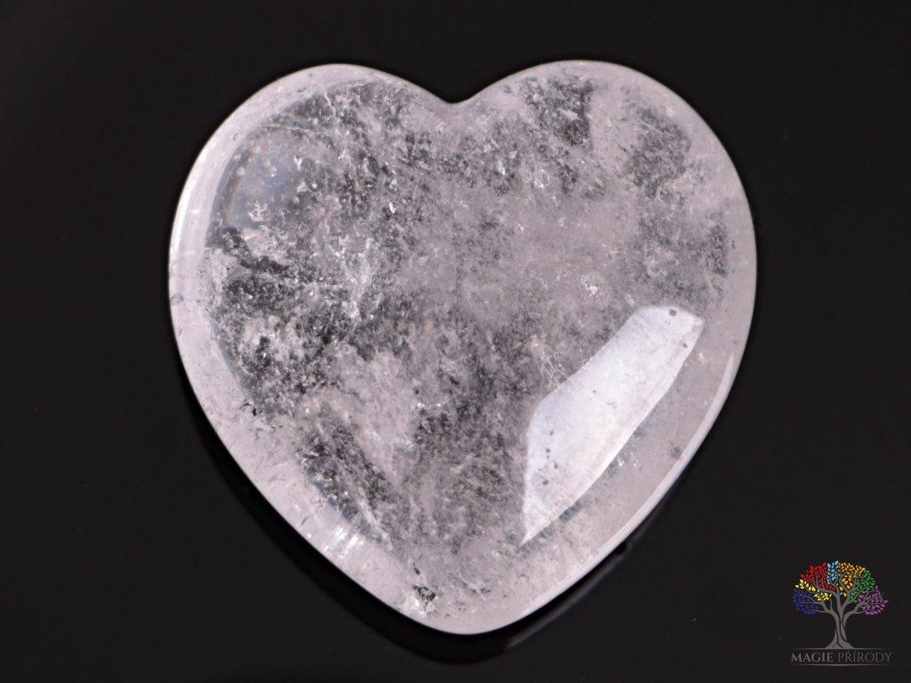Srdce Křišťál 40x40 mm - Křišťálové srdce #08  + sleva 5% po registraci na většinu zboží + dárek k objednávce