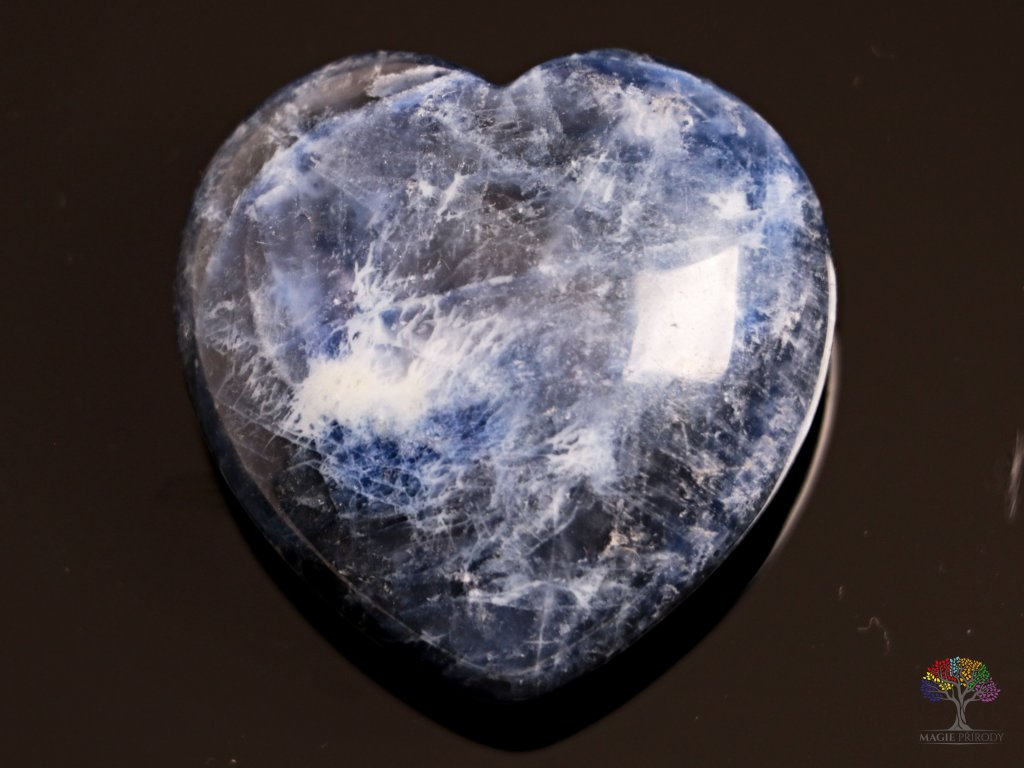 Srdce Sodalit 40x40 mm - Sodalitové srdce #04