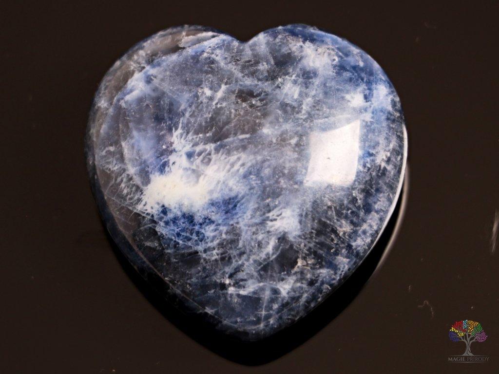 Srdce Sodalit 40x40 mm - Sodalitové srdce #04  + až 10% sleva po registraci