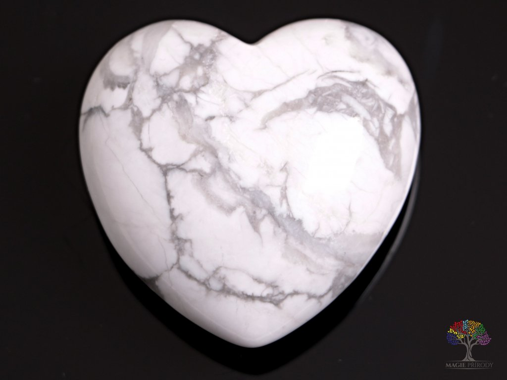 Srdce Magnezit 40x40 mm - Magnezitové srdce #02  + až 10% sleva po registraci