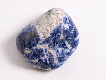 Tromlovaný kámen Sodalit JUMBO - velikost 50 - 70 mm - 1 ks - Brazílie