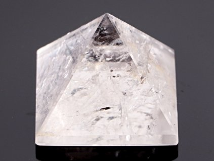 Křišťál pyramida 43x 43 mm - TOP kvalita - leštěná křišťálová pyramida #03