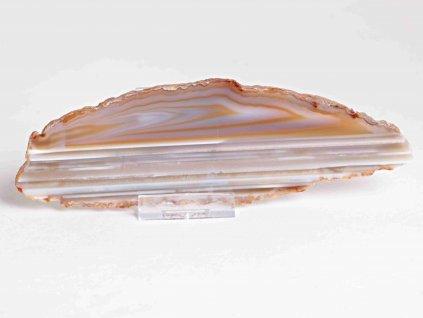 Achátový plát - velikost 17 cm + stojánek - Top kvalita - 351  + sleva 5% po registraci na většinu zboží + dárek k objednávce