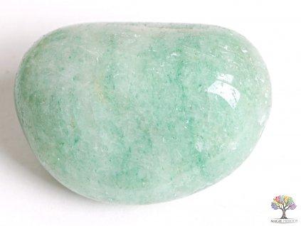 Tromlovaný kámen Amazonit JUMBO XL - velikosti 70 - 110 mm - 1 ks - Brazílie