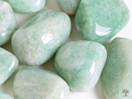 Tromlovaný kámen Amazonit JUMBO velikost 50 - 70 mm - Brazílie #16