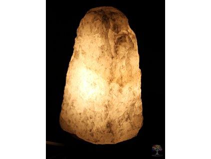 Křišťálová lampa elektrická 2 - 3 kg - #01 přírodní kámen
