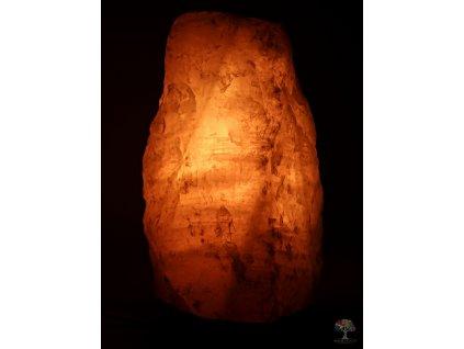 Růženínová lampa elektrická 2 - 3 kg - #01 přírodní kámen  + až 10% sleva po registraci
