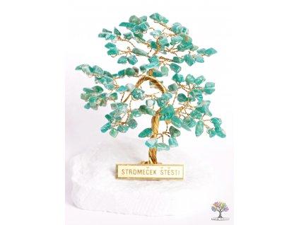 Amazonitový stromeček štěstí 9 cm - R4 - #85