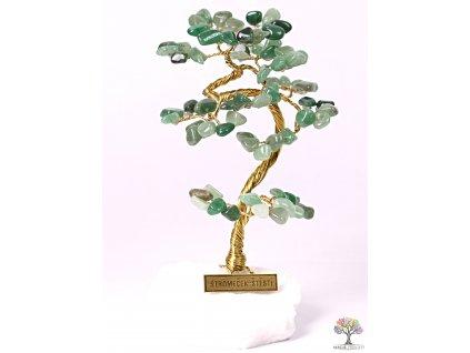 Avanturinový stromeček štěstí 15 cm - B1 - #92  + až 10% sleva po registraci