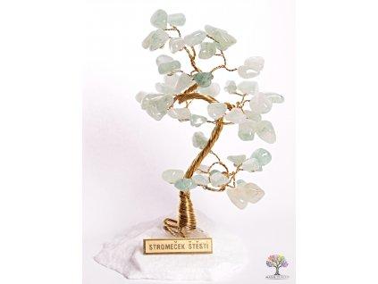 Avanturinový stromeček štěstí 14 cm - B0 - #98