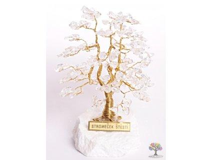 Křišťál stromeček štěstí 12 cm - A1 - #115