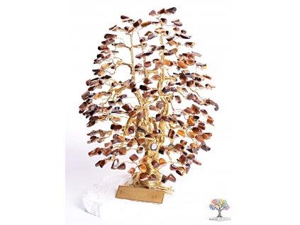 Tygří oko stromeček štěstí 20 cm - A3 - #118  + sleva 5% po registraci na většinu zboží + dárek k objednávce