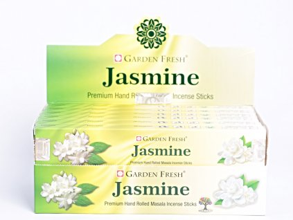 Vonné tyčinky Garden Fresh Premium Jasmine - 12 ks - #39