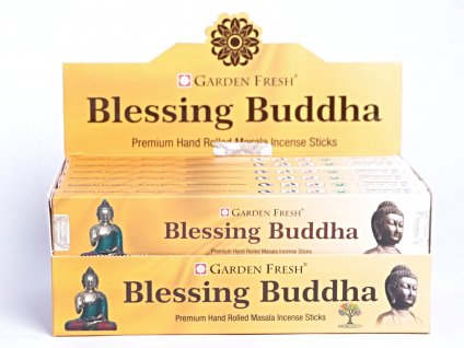 Vonné tyčinky Garden Fresh Premium Blessing Buddha - 12 ks - #40