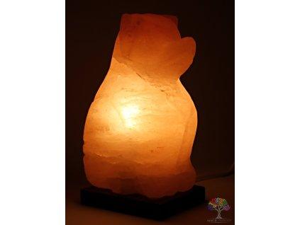 Solná lampa elektrická Pes - 2.8 - 3.5 Kg #02  + až 10% sleva po registraci