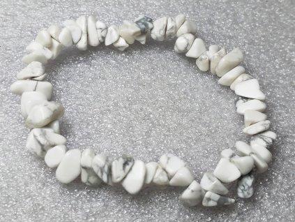 Náramek sekaný - Magnezit - tromlovaný - 40