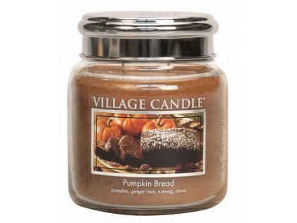 village candle vonna svicka ve skle dynovy chleb pumpkin bread 16oz