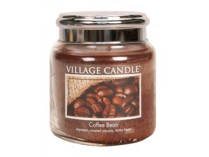 village candle vonna svicka ve skle zrnkova kava coffee bean 16oz