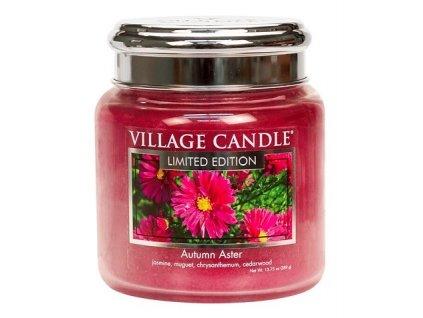 village candle vonna svicka ve skle autumn aster 16oz
