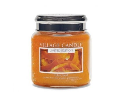 village candle vonna svicka ve skle citrusove osvezeni citrus twist 16oz