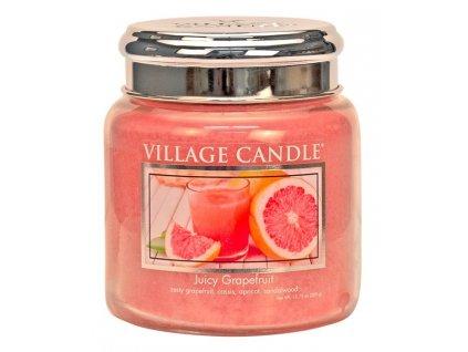village candle vonna svicka ve skle juicy grapefruit 16oz