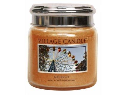 village candle vonna svicka ve skle podzimni slavnost fall festival 16oz