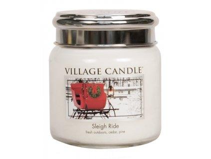village candle vonna svicka ve skle zimni vyjizdka sleigh ride 16oz