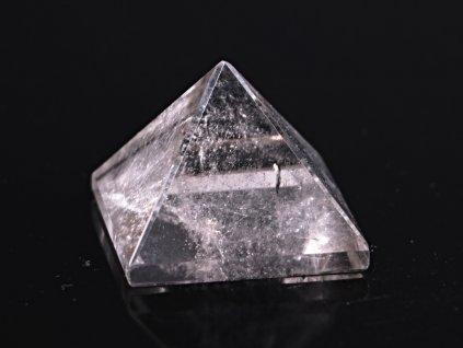 Křišťál pyramida 35 x 35 mm - TOP kvalita #21 - leštěná křišťálová pyramida