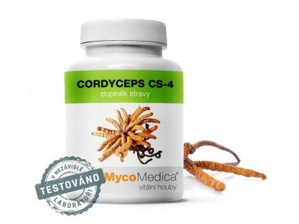 Cordyceps CS-4 90 želatinových kapslí #41 | MycoMedica  + dárek k objednávce + doprava zdarma při nákupu nad 1000,-