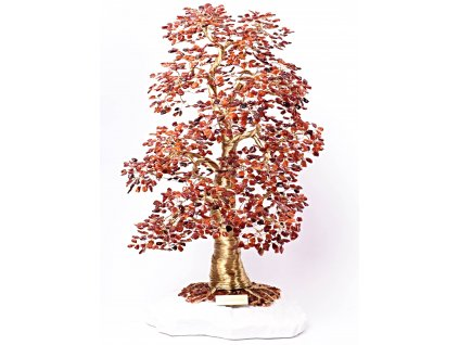 Jantarový stromeček štěstí 54 cm - D4 #127