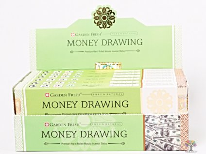 Vonné tyčinky Garden Fresh Premium Money Drawing - 12 ks - #47  + sleva 5% po registraci na většinu zboží + dárek k objednávce
