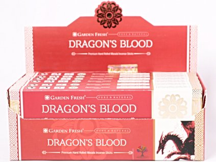 Vonné tyčinky Garden Fresh Premium Dragons Blood - 12 ks - #48