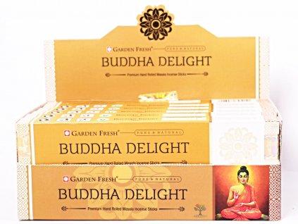 Vonné tyčinky Garden Fresh Premium Buddha Delight - 12 ks - #50  + sleva 5% po registraci na většinu zboží + dárek k objednávce